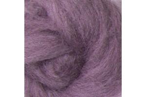 Merino vilna sluoksna  50 gr. 16 mikronų, violetinė 253908
