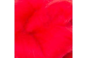 Merino vilna sluoksna  50 gr. 16 mikronų, ryški raudona 253915