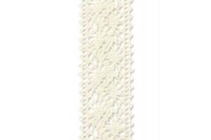 Nėrinys kreminis  22 mm. 1 m.