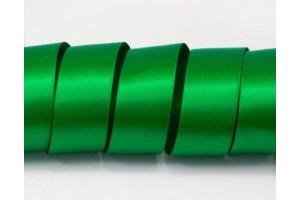 Satininė juostelė žalia 12 mm. 1 metras.