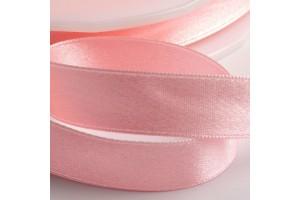 Satininė juostelė švelni rožinė 12 mm. 1 metras.