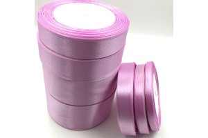 Satininė juostelė violetinė 12 mm. 1 metras.