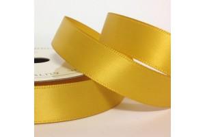 Satininė juostelė ryškus auksas 12 mm. 1 metras.