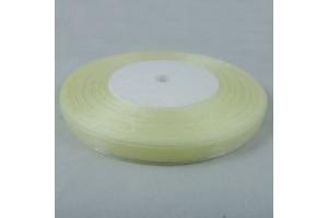 Organza juostelė šviesiai geltona  18 mm. 1 m.