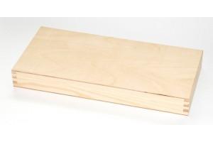 Medinė dėžutė 33,2x15,3 x 3,9 cm. DR1837