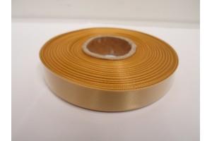 Satin Ribbon 6 mm., 1 m.  dark gold