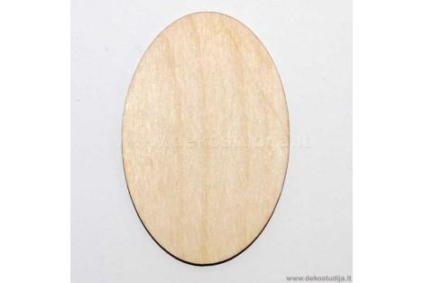 Medinė dekoracija lentelė 8,5x5,5 cm. Gift107