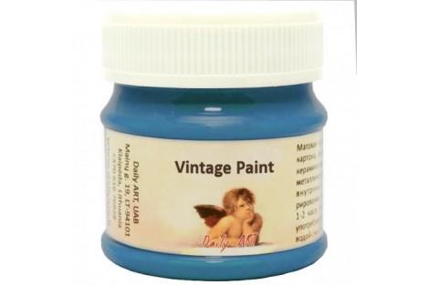 Kreidiniai akriliniai vintažiniai dažai 300 ml. pastelinė mėlyna