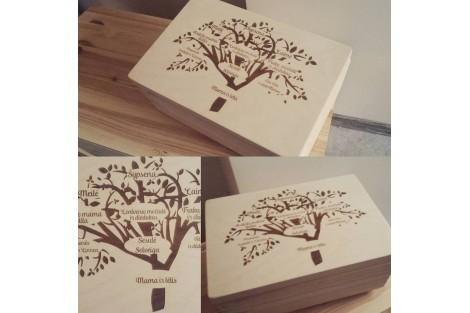 Christening box, 35x24x15 cm., GR_K0005