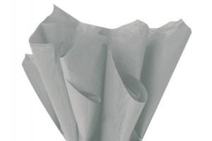 Tissue šilko popierius,  50x70 cm., 13 vnt., pilkas, F91580