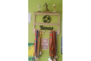 Medal shelf