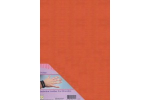 Eco leather, Orange