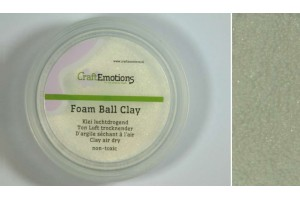 Foamball clay white 15 gr.