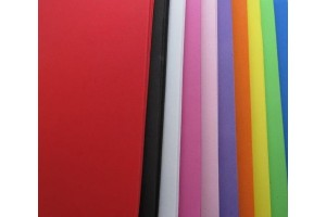 """Dekoratyvinė guma """"EVA foam"""" rankdarbiams, Spalvų asorti, 2 mm. 22x30 formato"""