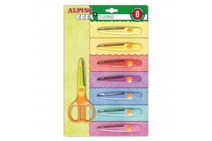 Shaped scissors pack