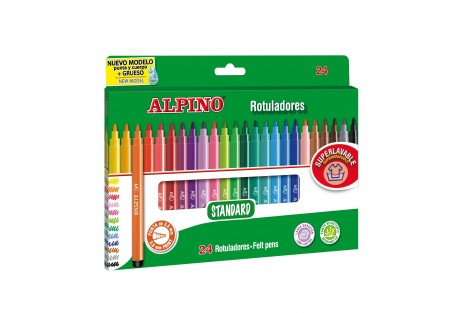 Colortime Marker, 4,3 mm line, additional colours, 12 colors., CR37648