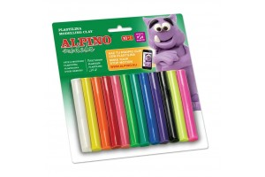 ALPINO Modelling clay, 12 colors