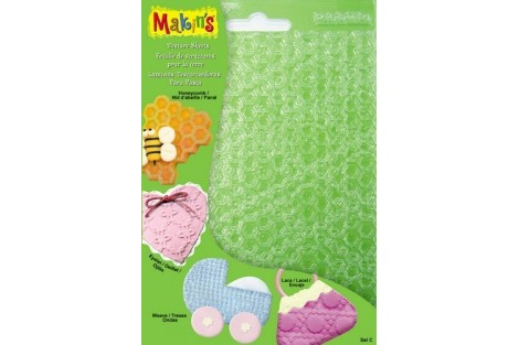Texture sheets for clay, set A