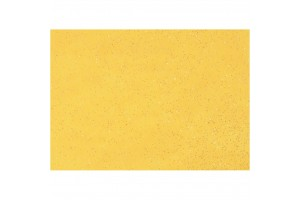 Felt, 20x30 cm., 1 mm., yellow with glitter, 45392
