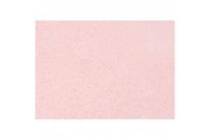 Filcas, 20x30 cm., 1 mm., šviesiai rožinis su blizgučiais, 45383