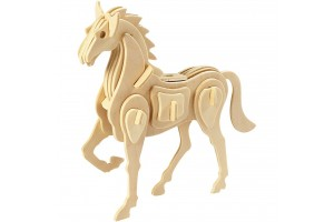 "Wood Construction ""Horse"", 57856"