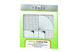 Glass cutting mat 35,5x35,5cm.