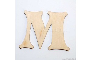 Raidė M (2 cm)