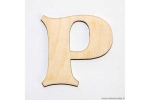 Raidė P (2 cm)