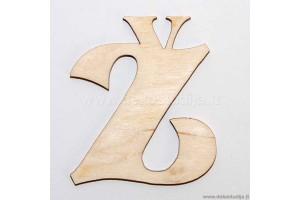Medinė raidė Ž (2 cm)