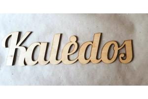 Wooden word 10x40 cm.