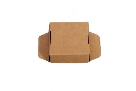 Kartoninė dėžutė pakavimui 5x5x2 cm.