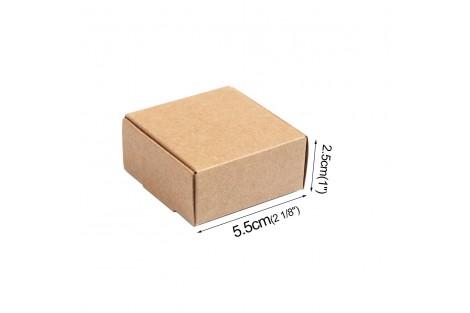 Kartoninė dėžutė pakavimui 5,5x5,5 cm.