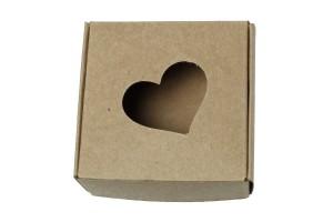 Kartoninė dėžutė pakavimui 7,5x7,5x2,8 cm.