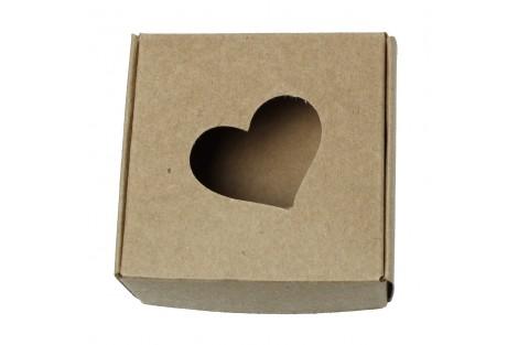 Kartoninė dėžutė pakavimui 15,5x10 cm.