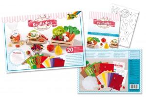 """Kūrybinis rinkinys siuvimui """"Maisto produktai"""", F51039"""