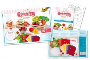 "Felt craft kit, ""Food shopping"", F51039"