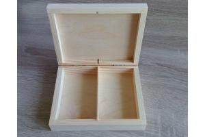 Medinė dėžutė žiedams 15,4x12,2x4cm. 1844