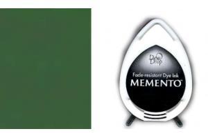 """Rašalinė kempinėlė antspaudukams """"memento"""" žalia"""