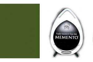"""Rašalinė kempinėlė antspaudukams """"memento"""" alyvuogių žalia"""