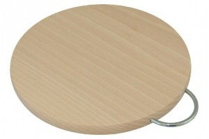 Cutting board with metal Hanger 1272