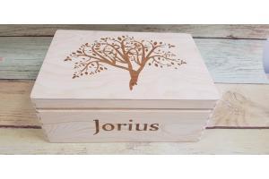 Christening box, 35x24x15 cm., GR_K0006