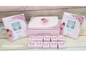 Memory box and set 35x24x15 cm.
