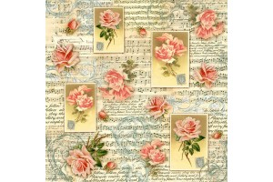 Rice napkin for decoupage 50x50 cm. DFT196