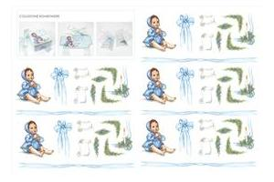 Decoupage rice paper 50x70 cm 91991