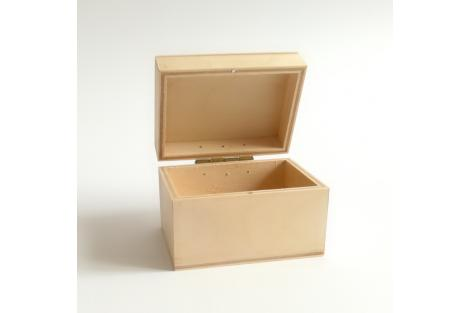Medinė dėžutė maža 7x5 cm, MM1016