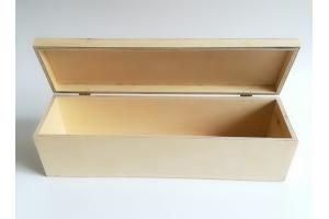 Medinė dėžė vynui 35x9,9x10 cm MM1013