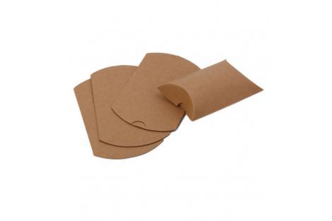 Paper pillow box 90x70 mm.