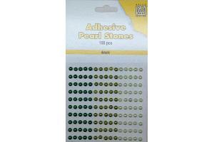 Richestones adhesive perls 4 mm.