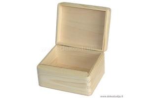 Medinė dėžutė su atsidaromu dangčiu 1305