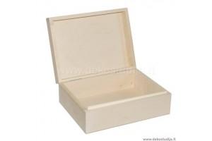 Medinė dėžutė 24x18x9 cm. 1350